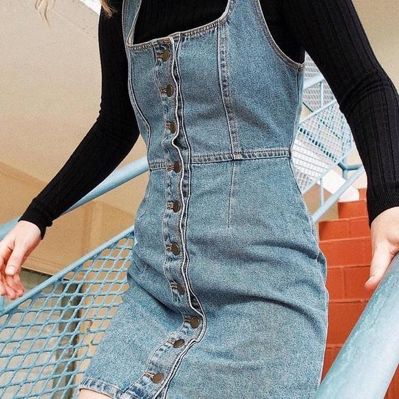222bafd1e98c Urban Outfitters Dresses | Uo Buttondown Denim Mini Dress | Poshmark